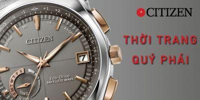 Những mẫu đồng hồ Citizen bán chạy nhất năm 2021