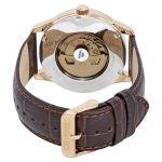 Orient Automatic Mặt Tròn Màu Đen Quai Da Nâu Lịch Thứ Ngày FAL00004B0