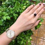 Michael Kors Mini Parker Gold Floral Cutout Women's Watch MK6469