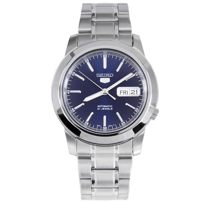 Seiko 5 Automatic Blue Dial Men's Watch SNKE51