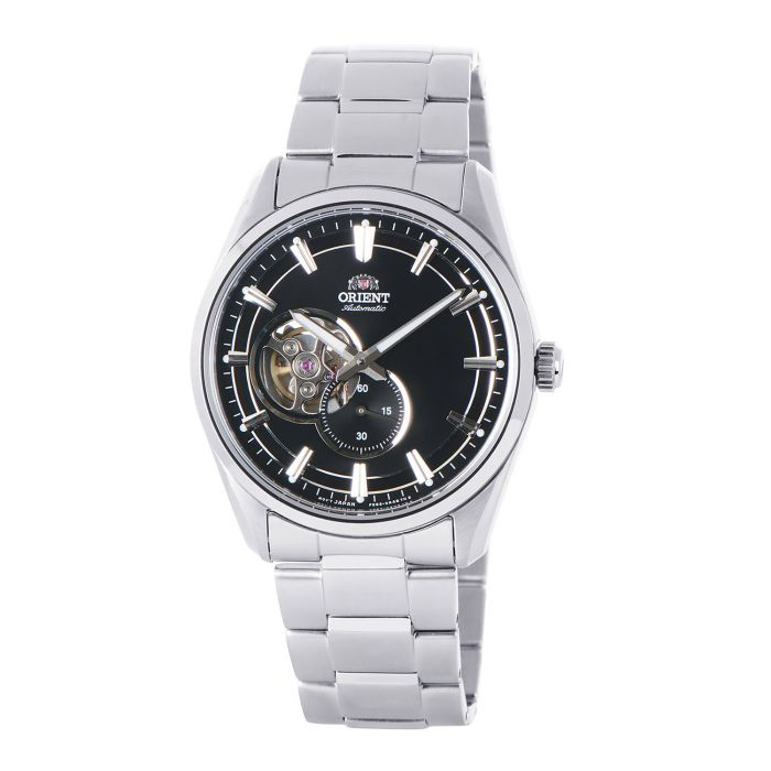 Orient Contemporary Open Heart Automatic Black Dial Men's Watch RA-AR0002B10B