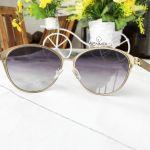 Guess Gradient Smoke Cat Eye Women's Sunglasses GU7442 02B