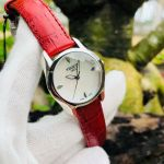 Tissot T-Wave Mother of Pearl Red Leather Women's Watch T023.210.16.111.01