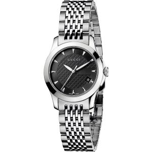 Gucci Timeless Sapphire Crystal Women's Watch YA126502