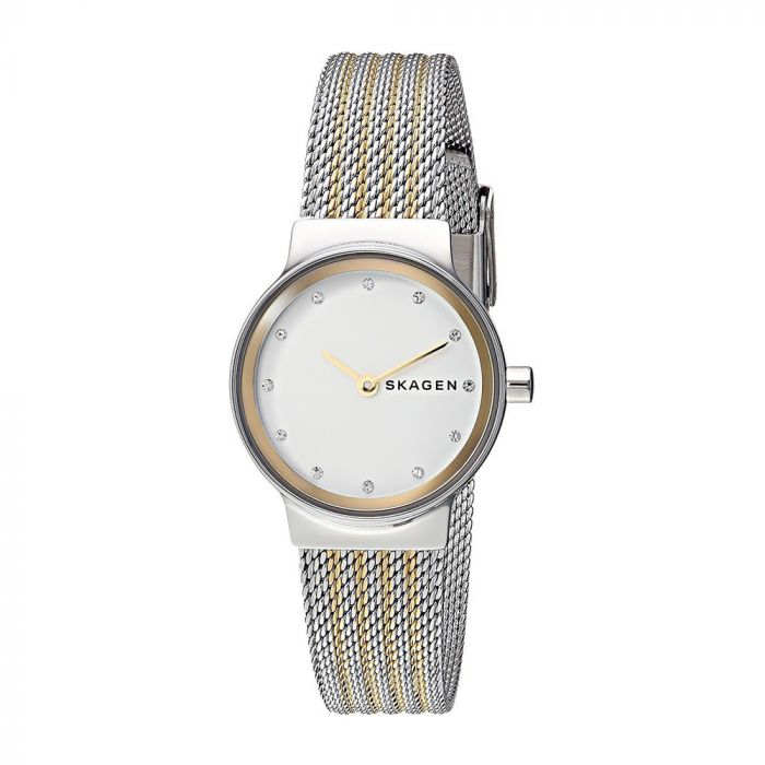Skagen Freja Crystal Two Tone Women's Watch SKW2698