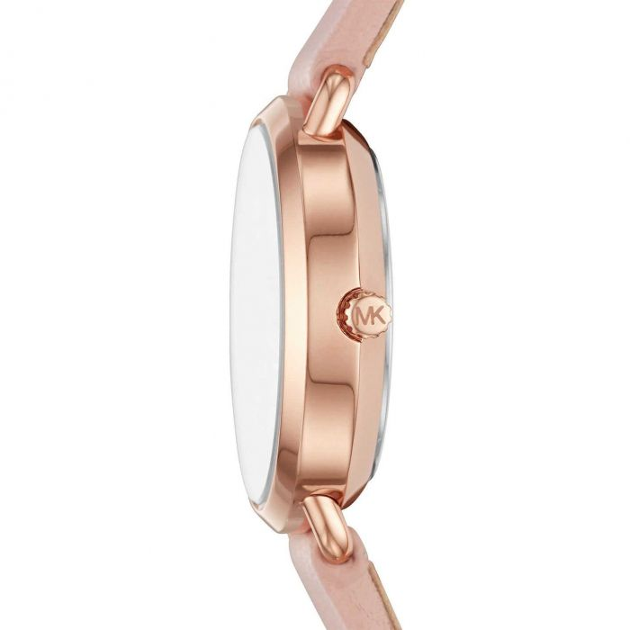 Michael Kors Petite Portia Pink Leather Women's Watch MK2735