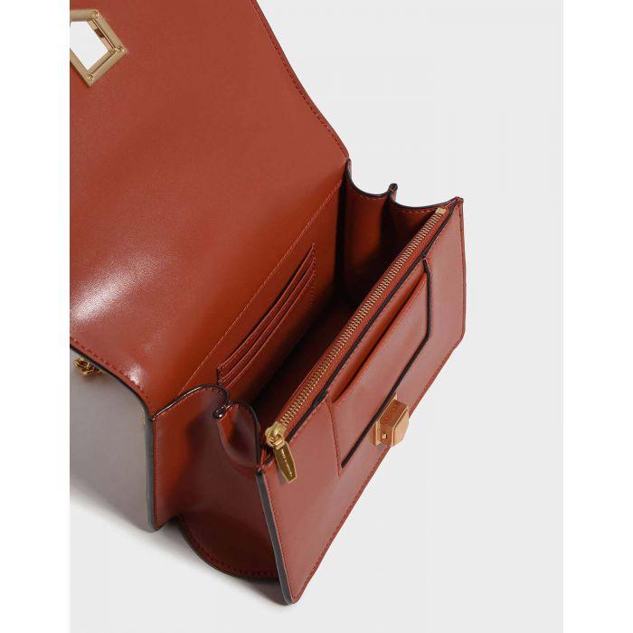 Charles & Keith Weave Crossbody Brick Women's Bag CK2-80680689