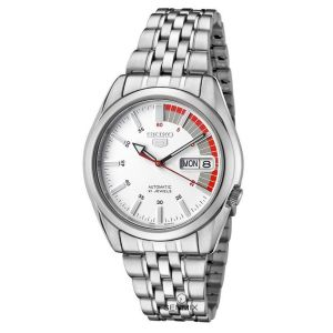 Seiko Automatic White Dial Men's Watch Seiko 5 SNK369