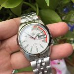Seiko Automatic White Dial Men's Watch Seiko 5 SNK369
