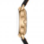 Michael Kors Petite Portia Black Leather Women's Watch MK2750