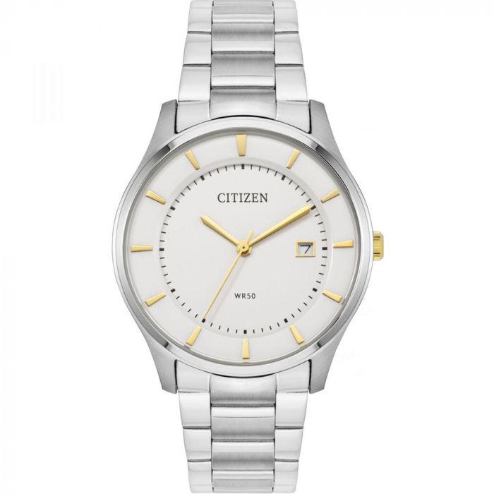 Citizen Quartz Silver Dial Men's Watch BD0041-54B