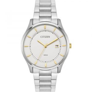 Citizen Quartz Silver Dial Men's Watch BD0041-54B