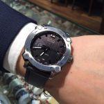 Bulova Accu-Swiss Percheron Silicone Automatic Men's Watch 63B199