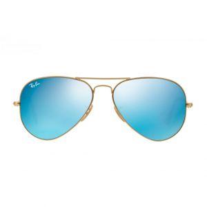 Ray-ban Aviator Pilot Blue Flash Sunglasses RB3025 112/17 58