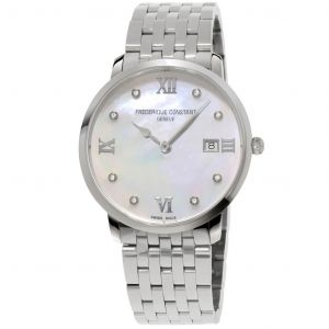 Frederique Constant Diamond Classics Slim Line Grande Women's Watch FC-220MPWD3S6B