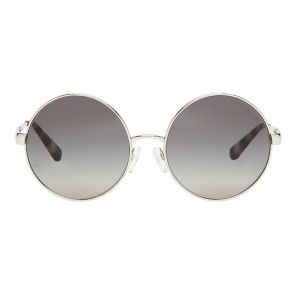 Michael Kors Round Grey Lens Sunglasses MK5020 100111