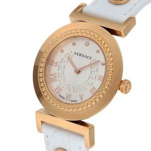 Versace Vanity Swiss White Croco Women's Watch P5Q80D001S001
