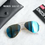 Ray-ban Aviator Pilot Blue Flash Sunglasses RB3025 112/17 58
