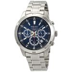 Seiko Neo Sports Chronograph Stainless Steel Blue Dial Men's Watch SKS603