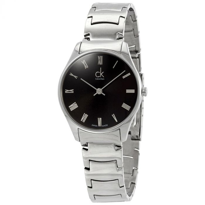 Calvin Klein Classic Black Dial Women's Watch K4D2214Y