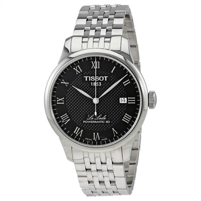 Tissot Le Locle Powermatic 80 Automatic Stainless Steel Men's Watch T006.407.11.053.00