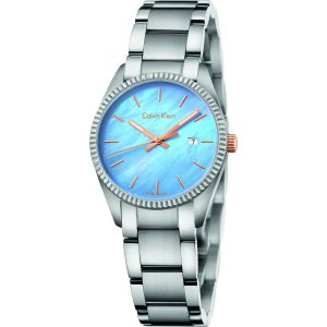 Calvin Klein Swiss Alliance Mother of Pearl Women's Watch K5R33B4X