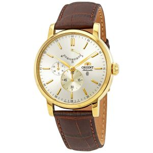 Orient Automatic Gold Plated Stainless Steel Sapphire Men's Watch FEZ09002S0