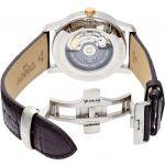 Tissot T-Classic Automatic Titanium Mặt Tròn Màu Trắng Dây Da Màu Nâu Lịch Ngày T087.407.56.037.00