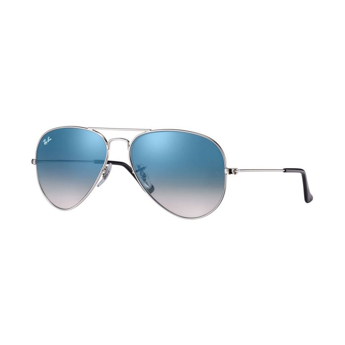 Ray-ban Light Blue Gradient Aviator Sunglasses RB3025 003/3F
