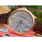 Tissot Le Locle Powermatic 80 Automatic Diamond Brown Leather Men's Watch T006.407.36.388.00