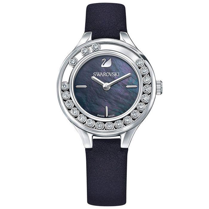 Swarovski Lovely 20 Crystals Mini Black Women's Watch 5242898