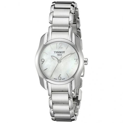 Tissot T-Wave Mother of Pearl Dial Ladies Watch T023.210.11.117.00