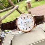 Frederique Constant Accessible Luxury Classic Index Automatic Brown Leather Men's Watch FC-303V5B4