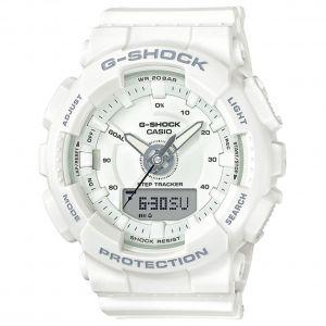 Casio G-Shock S-Series Mặt Tròn Dây Nhựa Màu Trắng GMAS130-7A
