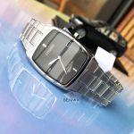 Citizen Eco-Drive Black Dial Stainless Steel Men's Watch AU1070-58E