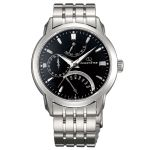 Orient Star Retrograde Automatic Power Reserve Black Dial Men's Watch SDE00002B0