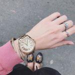 Michael Kors Kacie Gold Sunray Gift Set Women's Watch MK3568