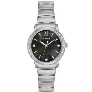 Bulova Diamond Accent Mother of Pearl Women's Watch 96R213
