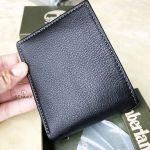 Timberland Leather with Attached Flip Pocket Black (Blix) Men's Wallet D10218/08