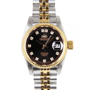 Orient Diamond Sapphire Automatic Two Tone Women's Watch SNR16002B