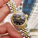 Orient Diamond Sapphire Automatic Two Tone Women's Watch SNR16002B