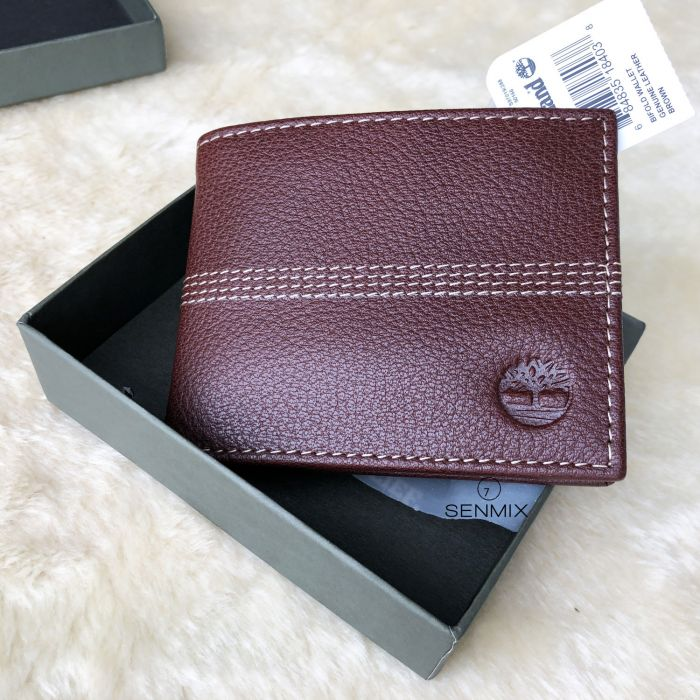 Timberland Sportz Quad Leather Passcase Men's Wallet Brown D08389/01