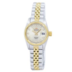 Orient Diamond Sapphire Automatic Two Tone Women's Watch SNR16002C