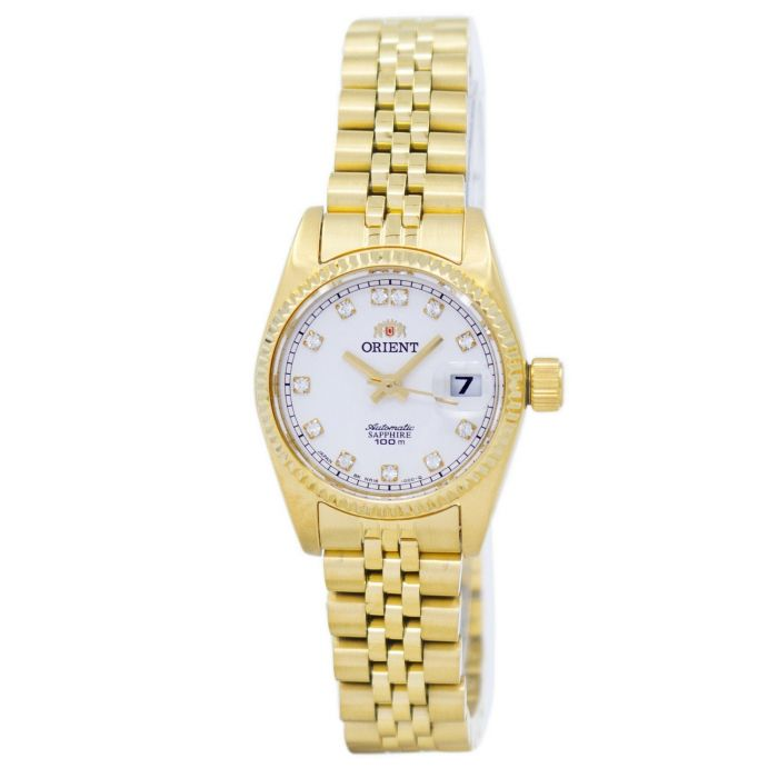 Orient Diamond Sapphire Automatic Gold Women's Watch SNR16001W