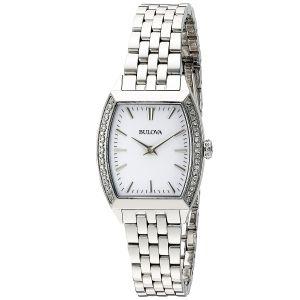 Bulova Diamond Accent Gallery Women's Watch 96R196