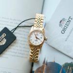 Orient Diamond Sapphire Automatic Gold Women's Watch SNR16001W