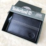 Timberland Sportz Quad Leather Passcase Men's Wallet Black D08389/08
