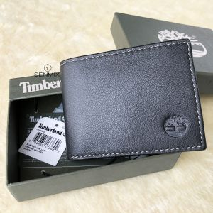 Timberland Blix Slimfold Leather Men's Wallet Black D10222/08