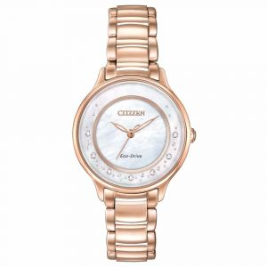 Citizen Circle of Time Diamond Eco-Drive Women's Watch EM0382-86D