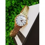 Raymond Weil Toccata White Dial Classic Gold Men's Watch 5488-P-00300